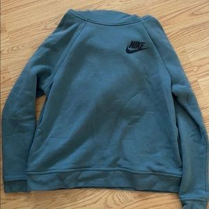 NIKE HOODIE! With cowl neck
